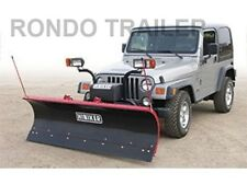 """NEW 7' JEEP SNOW PLOW """"PERFECT FIT!"""" ** COMPLETE...EVERYTHING U NEED!**"""