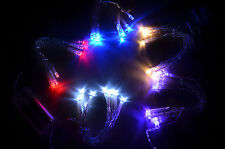 NEW- 5 Sets of 10 LED Light Strings Battery Operated - US SELLER - 15 Feet Total