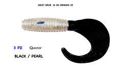 GRUB MAXY  16 CM -  col BLACK PEARL - 45 GR -  SEA FAT BOY QUANTUM
