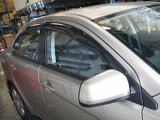 Weathershield Slim Rainshield Door SunVisors For Mitsubishi Lancer 08-14