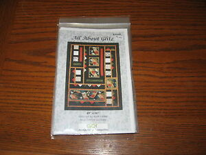 All About Glitz quilt pattern by Barb Sackel  AccuQuilt Go Compatible as well !!