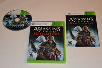 Assassin's Creed Revelations Microsoft Xbox 360 Video Game Complete