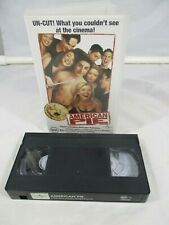 American Pie Uncut Version VHS MA15+ PAL Universal 1999 TESTED.