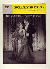 Unsinkable Molly Brown - 1961 Playbill for Winter Garden Theatre - Tammy Grimes