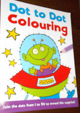Dot-to-Dot 1 to 50 Colouring book by Autumn Publishing. 12 available.