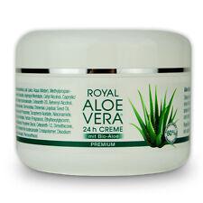 Royal Aloe Vera 24h Gesichtscreme Tages Nacht Creme mit 60% Bio Aloe Vera 100 ml