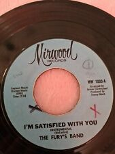 Northern Soul Records The Furys Band Im Satisfied With You
