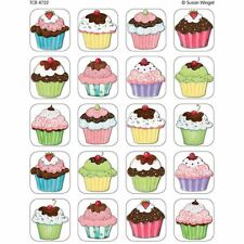 Sw Cupcakes Stickers Teacher Created Resources Tcr4732