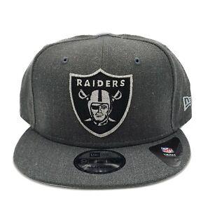 Las Vegas Raiders New Era 9Fifty Heather Adjustable Snapback Hat NFL