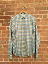 Gant Michael Bastian Exploration Galapagos Men's Plaid Shirt Sz Large Excellent