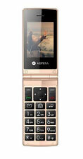 Aspera F24 - 128MB - Black/Gold Mobile Phone