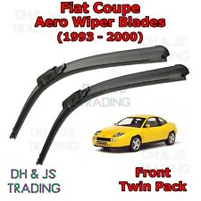 (93-00) Fiat Coupe Aero Wiper Blades / Front Windscreen Flat Blade Wipers 175
