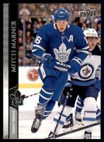 2020-21 UD Series 1 French #168 Mitch Marner - Toronto Maple Leafs