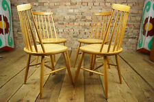 60er 4x Vintage Chairs Danish Retro Designer Set Dining Room Tapiovaara Age