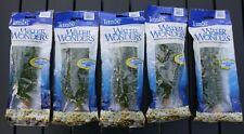 "WATER WONDERS by Tetra. ""Anacharis"" 9 Inch PLASTIC Aquarium Plant. Quantity 5!"