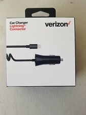OEM Verizon Lightning Connector Vehicle Car Charger for iPhone XR iPhone Xs Max