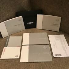 New listing 2018 Nissan Maxima Owners Manual set with Navigation Book, supplement & case