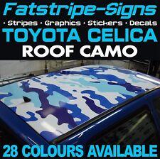 TOYOTA CELICA CAMO ROOF GRAPHICS STICKERS STRIPES DECALS VVTI GT SPORT TRD 1.8
