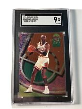 1993-94 Fleer Ultra Power In The Key #2 Michael Jordan SGC 9 🔥 HOF GOAT LOW POP
