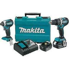 Makita 18V LXT BL Li-Ion Cordless 2-Piece Combo Kit (4.0 Ah) XT269M NEW