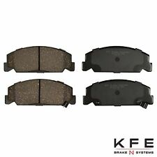 FRONT NEW Premium Ceramic Disc Brake Pad Set With Shims Fits Honda KFE273-104