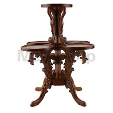 Doll 1/6 Scale Furniture Hand Carved Luxurious Flower Stand WN Color