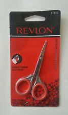 LOT OF 2 Revlon Cuticle Scissors  Curved Blade 37410 Stainless steel