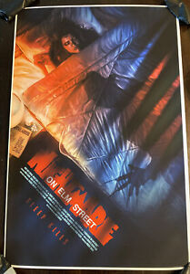 A Nightmare On Elm Street Movie Poster Art Print Freddy Krueger Wes Craven mondo