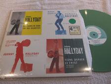 """maxi 45t  Johnny Hallyday  """"4 juke-box sur 1 maxi 45T""""   vinyle GREEN"""