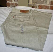 Levis 501 Jeans Original Shrink-to-Fit Rigid Natural Stone 36 x 34 Big