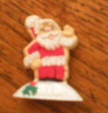 Hallmark -1983 - Merry Miniatures - Cookie Santa - Pre-Owned