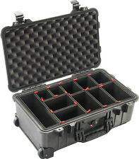 Black Pelican 1510 case with 1510TP TrekPak Divider System.