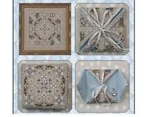 JUST NAN WINTER IN THE MEADOW NEEDLE CASE CROSS STITCH CHART AND EMB.