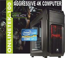 Intel Core I7 7700 1tb 16gb GTX Nvidia 1060 6GB DDR5 Carbide Computer Gaming PC