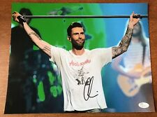 Adam Levine Maroon 5 Autographed Signed 11X14 Photo Authentic JSA COA