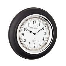 Relojes de pared comedores de color principal negro