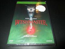 """DVD NEUF """"WISHMASTER"""" film d'horreur de Robert KURTZMAN"""