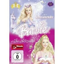 "BARBIE IN ""DER NUSSKNACKER"" & BARBIE IN ""SCHWANENSEE"" - 2 DVD NEUWARE"