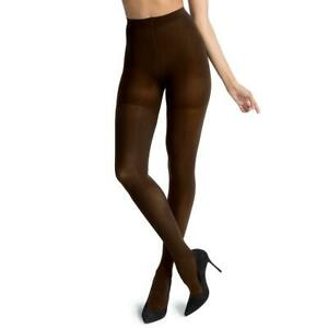 Spanx By Sara Blakely Womens Luxe Leg Brown Tights Shaper Pantyhose A BHFO 5611