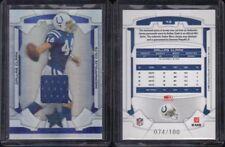 2008 Leaf Rookies & Stars Dallas Clark #43 Sapphire Jersey 074/100 +bonus! Colts