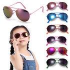 Classic Metal Frame Kids Glasses Girls Boys Anti-UV Sunglasses Goggles Eyewear