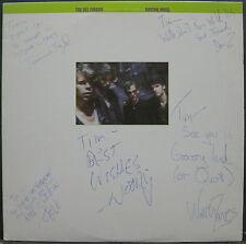 The DEL FUEGOS Boston, Mass. 1985 Slash Records AUTOGRAPH LP Zanes MINTY! Froom