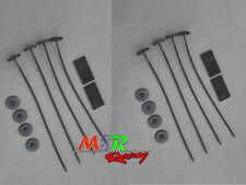 [2 sets] Plastic Universal Radiator Mount Mounting Kits Electric Fan Tie Strap