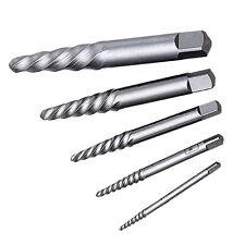 Broken Screw/Shaft Extractor Set - Five Piece Set