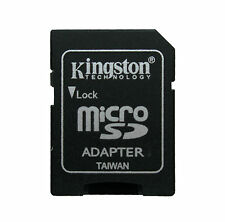50 pcs uds Adaptador de Tarjetas KINGSTON MicroSD a SD Lector Grabador Camara