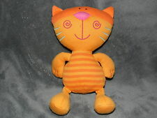 MOTHERCARE CAT SOFT TOY ORANGE KITTY PUSSY COMFORTER DOUDOU