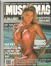 MUSCLEMAG bodybuilding muscle magazine/Dena Doster/Monica Brant 6-97 #180