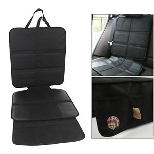 Extra Large Anti-Slip Car Seat Protector Cover Mat w/Organizer Pockets