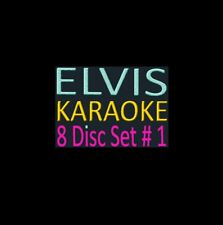 KARAOKE CDG  ELVIS MUSIC MAESTRO  8   DISCS  119  SONGs