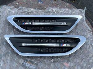 2013-2016  BMW M5 F10 OEM Fender Side Panel Grille Vent Side Marker Left & Right
